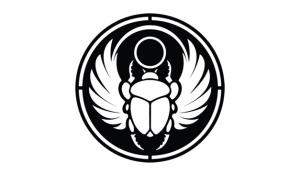 triple darkness scarab beetle