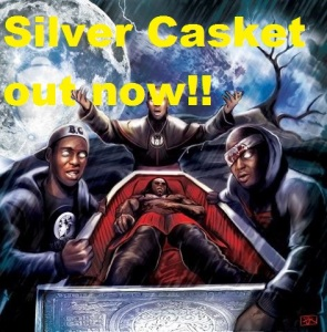 Silver casket out now artwork